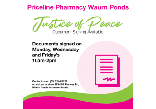 Justice of the Peace – Document Signing Service
